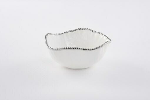 Pampa Bay White Porcelain Large Salad Bowl