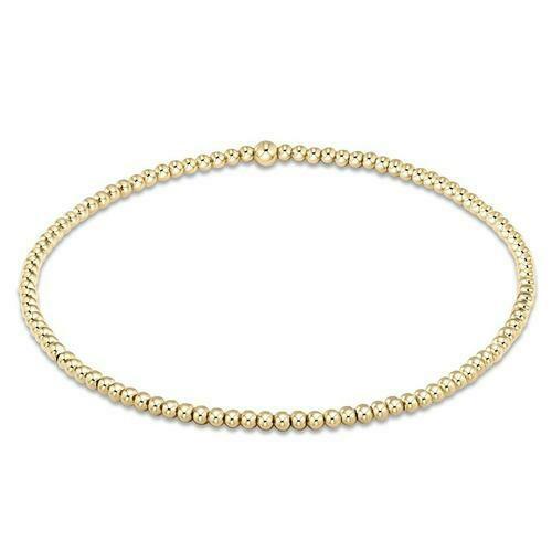 Enewton Classic Gold 2mm Bead Bracelet