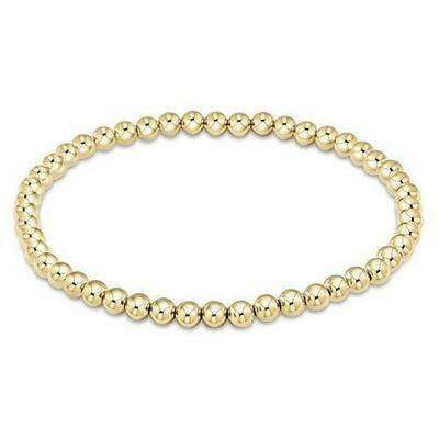 enewton Classic 4mm Gold Bead Bracelet