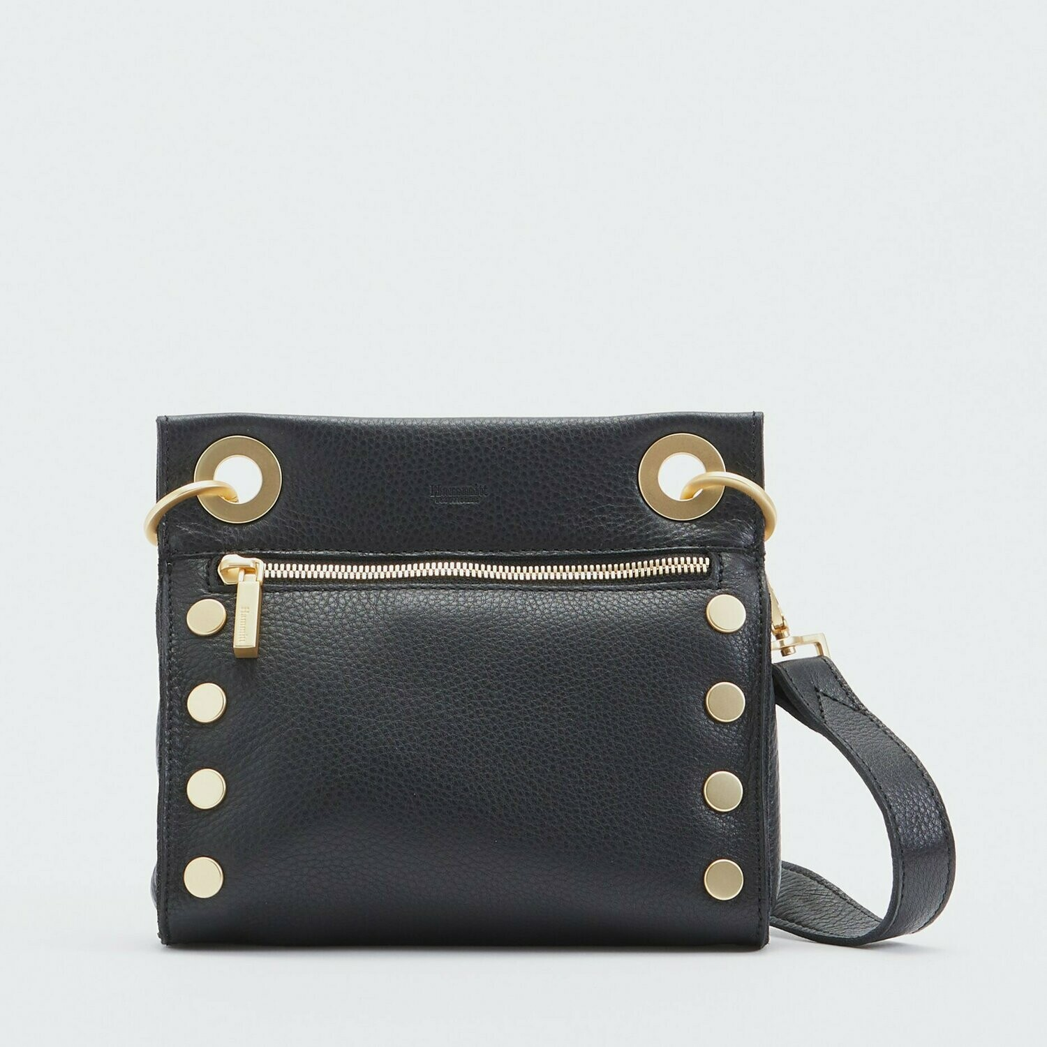 Hammitt Tony Small Black with Brushed Gold Hardware