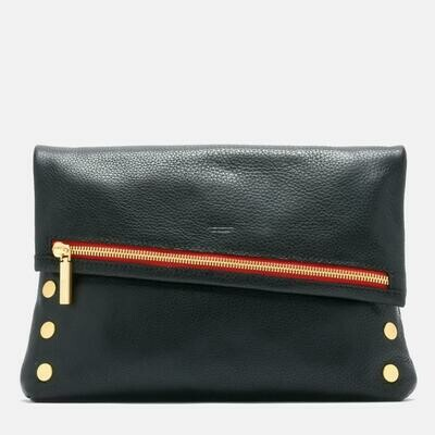 Hammitt Large VIP Black with Brushed Gold Hardware
