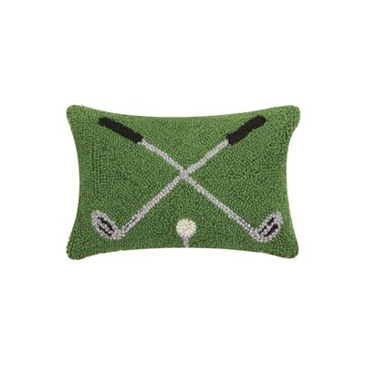 Cross Golf Clubs Hook Pillow