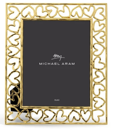 Michael Aram Gold Heart Frame 8X10