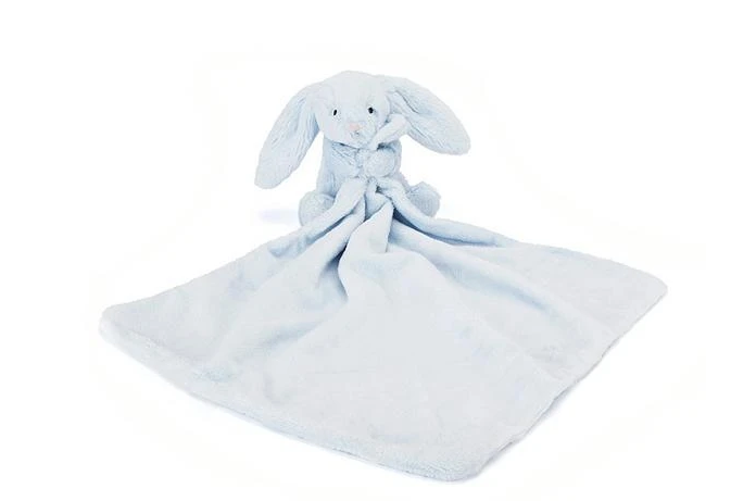 Jellycat Bashful Beau Blue Bunny Soother