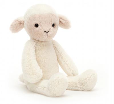 Jellycat Snuglett Brammwell Small Lamb