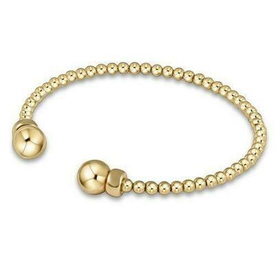 enewton Classic Gold 3mm Bead Cuff
