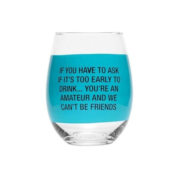Amateur Wine Glass