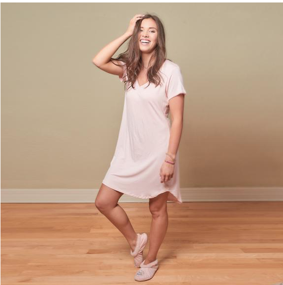 Faceplant Dreams Bamboo Claire Nightgown