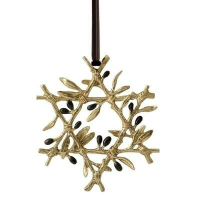 Olive Branch Ornament by Michael Aram