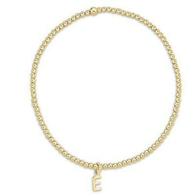 enewton Respect 2mm Letter Bracelet