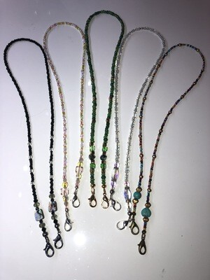 Beaded Mask Chain & Eyeglass Lanyard