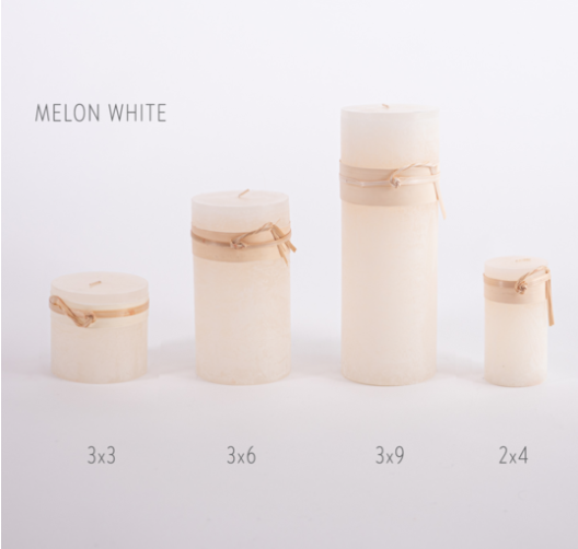 3x9 Timber Candle by Vance Kitira