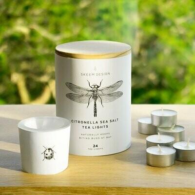 Skeem Ladybug Tea Light