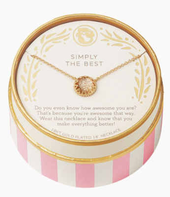 Spartina Simply The Best Necklace in Gold