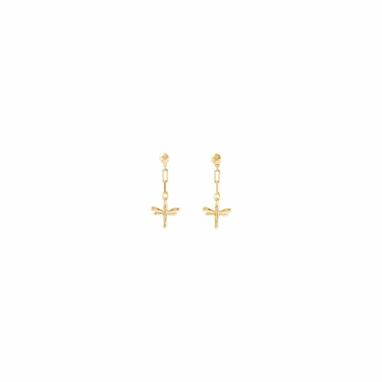 Take-Me Gold Earrings