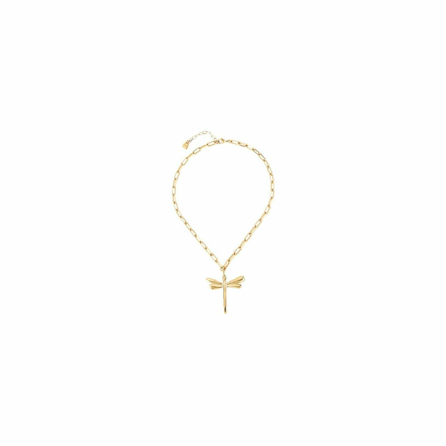 Uno de 50 Freedom Gold Necklace