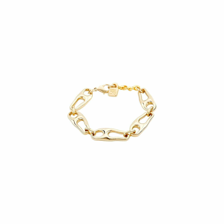 Connected Gold Bracelet