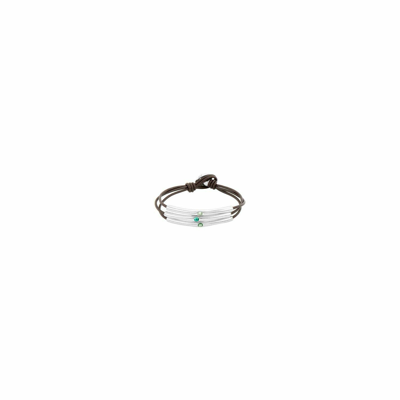 Blueberries Silver Bracelet