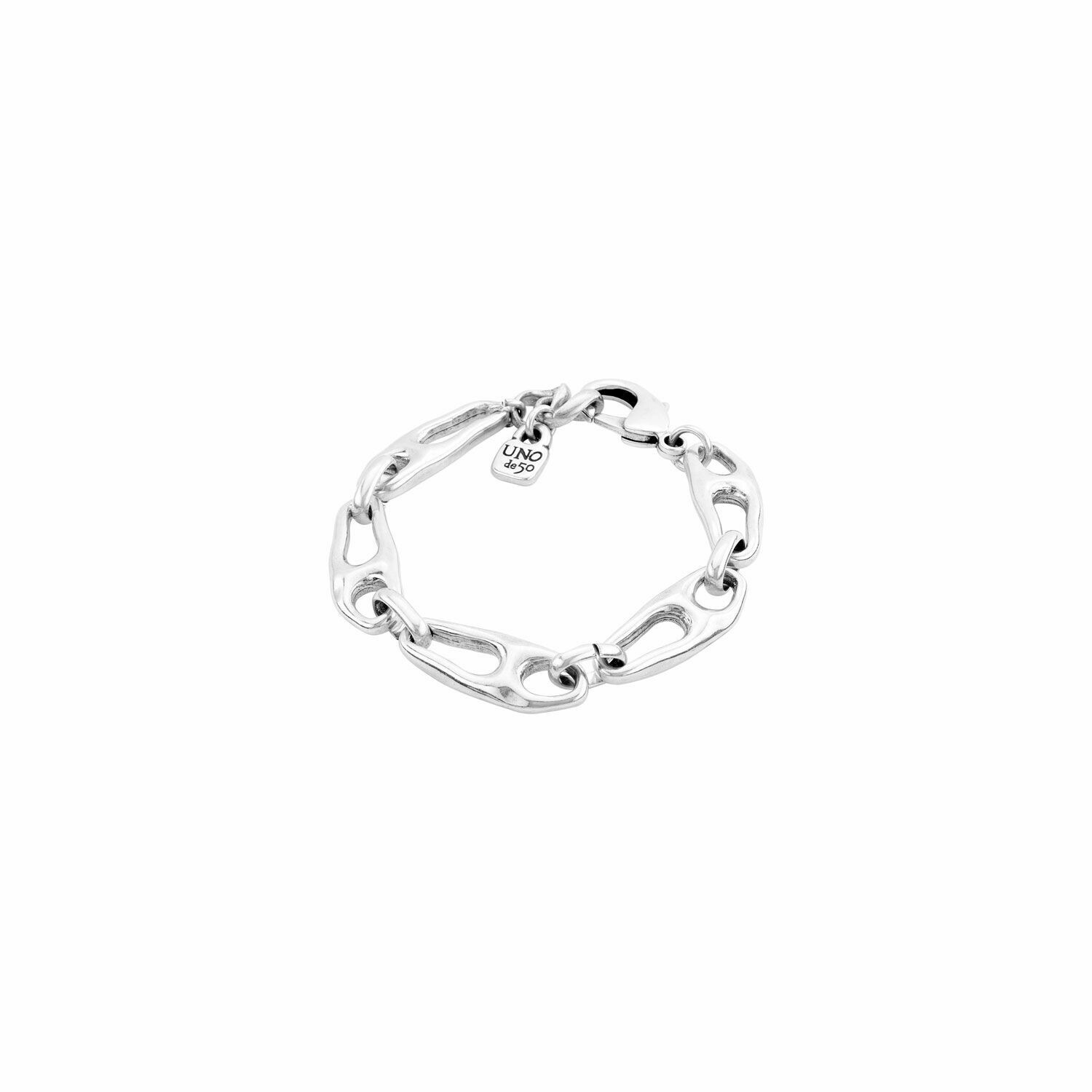 Connected Silver Bracelet