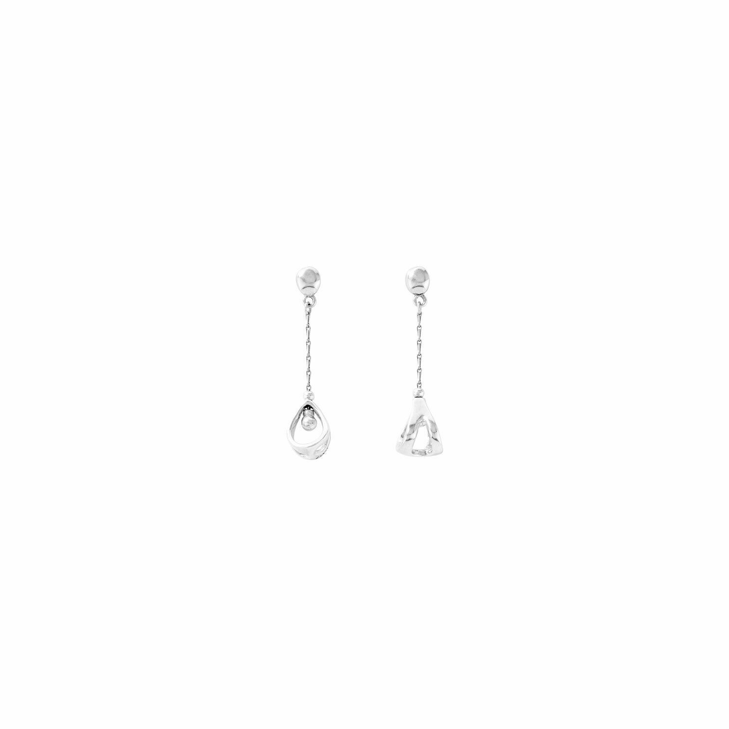 Promise-Me Silver Earrings