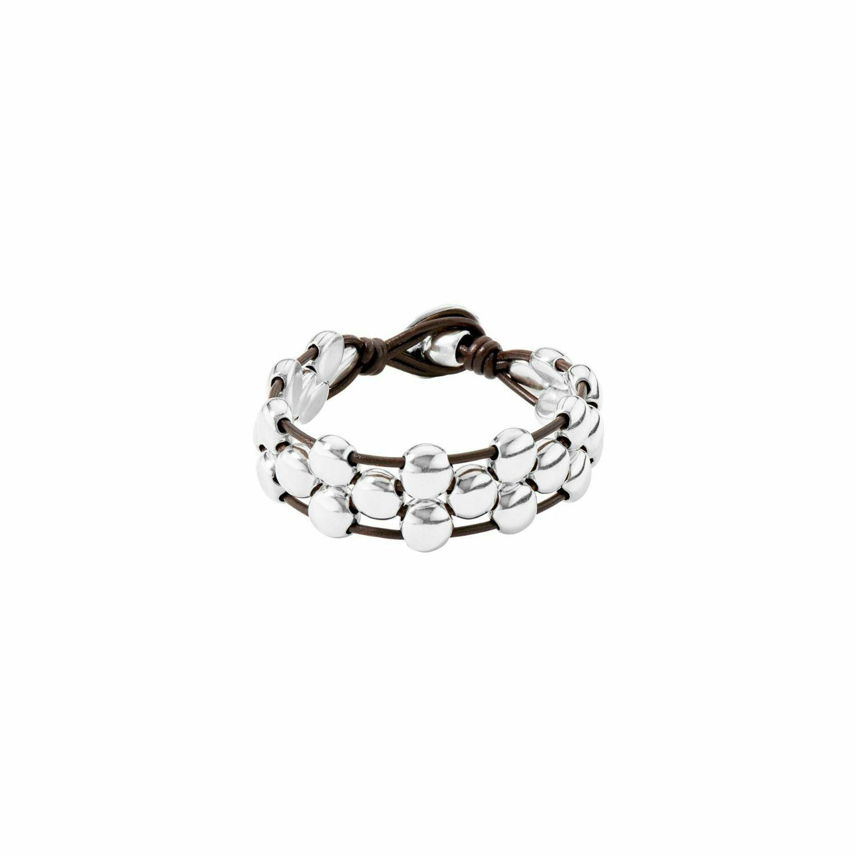 Friends Silver Bead Bracelet