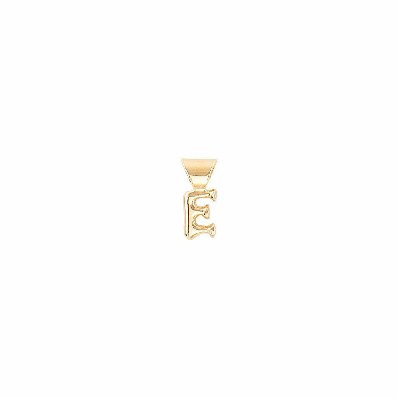 Mi E Gold Initial Charm