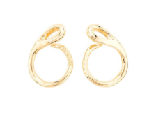 Uno de 50 Tangled Gold Earrings