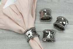 Verona Set/4 Napkin Rings
