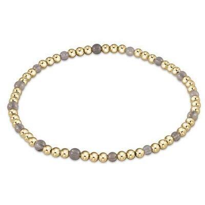 Gold Sincerity Pattern Bracelet