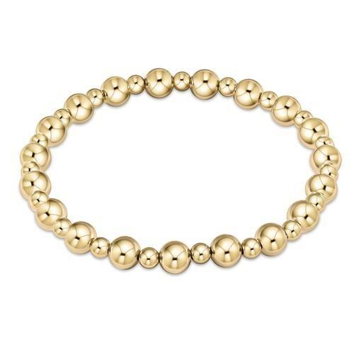 Gold Grateful Pattern Bracelet