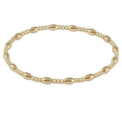 Harmony Sincerity Pattern 2mm Bead Bracelet