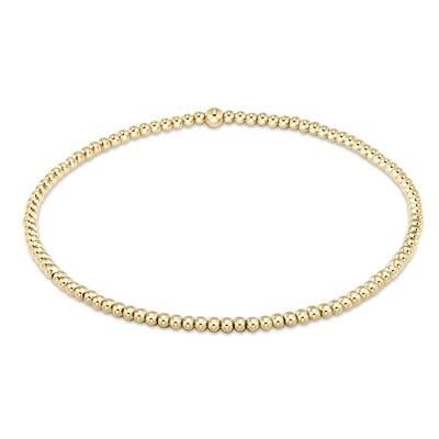 Classic Gold Bead Bracelet