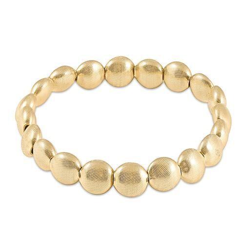 Honesty Gold Bead Bracelet