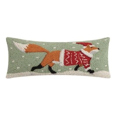 Christmas Fox Hook Pillow