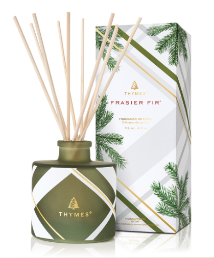 Frasier Fir Frosted Plaid Diffuser