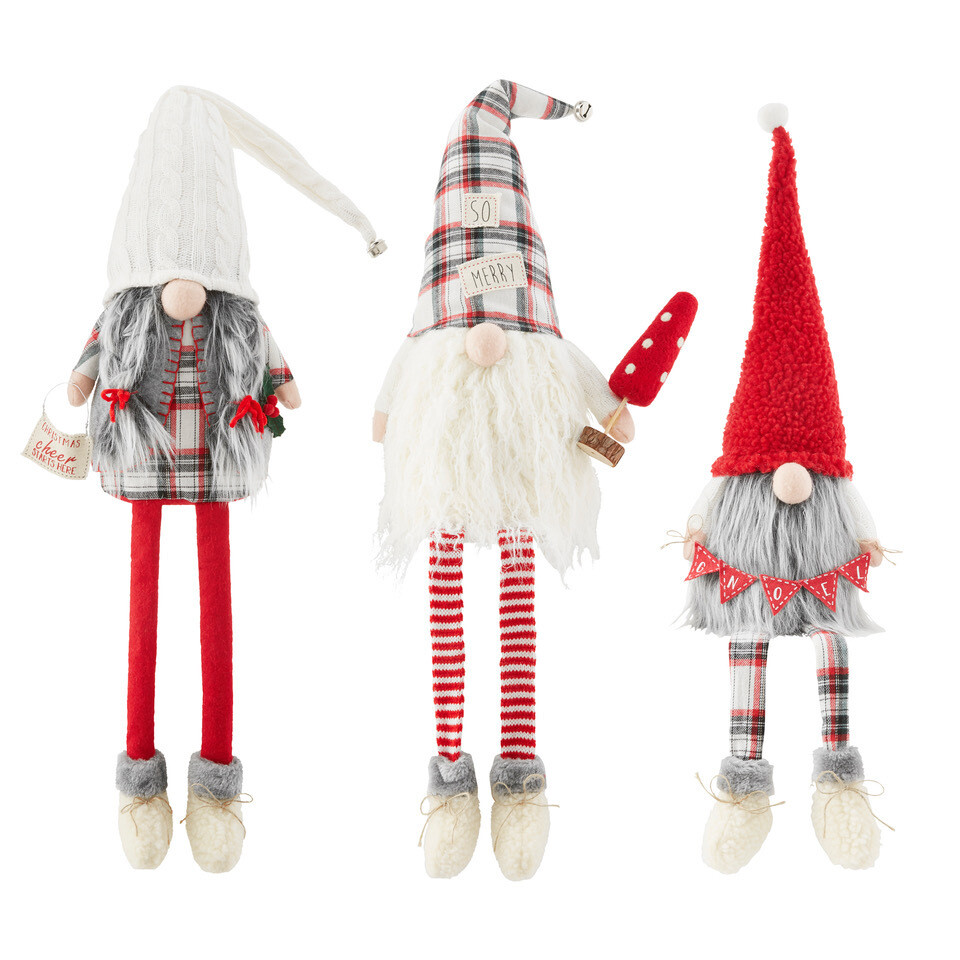 Cheer Dangle Leg Gnome