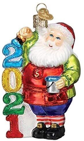 2021 Santa Ornament