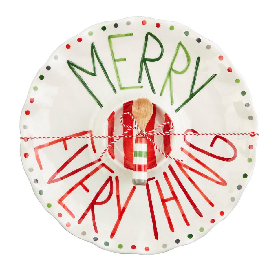 Merry Everything Chip & Dip Set
