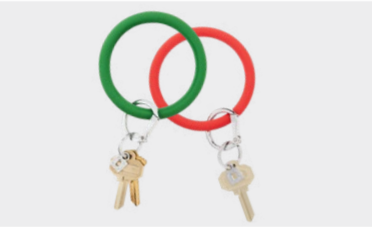 Silicone Key Ring