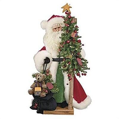 Classic Bag of Toys Santa