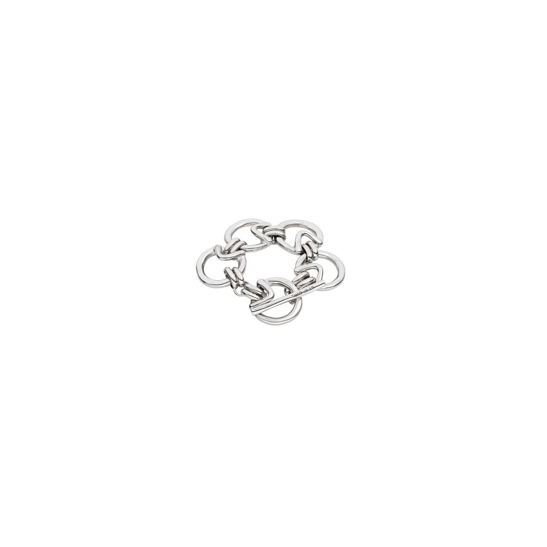 Game of 3 Silver Bracelet