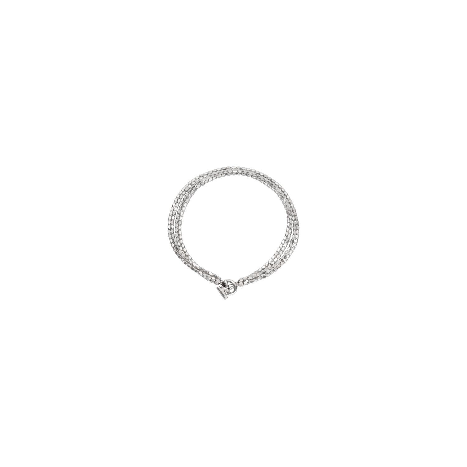 Paths Silver Necklace