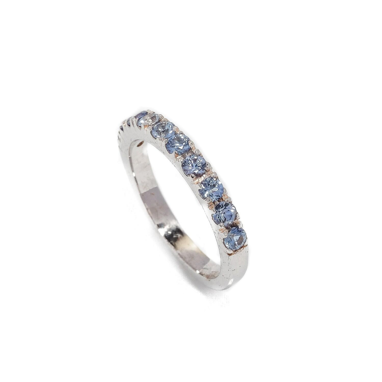 The Elemental Eternity Ring - Sapphire - 6⌀ (14KT)