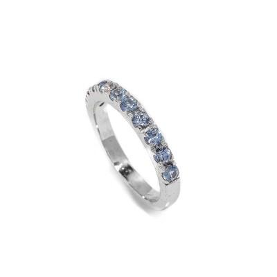 Elemental Eternity Ring - Sapphire - 6⌀ (14KT)