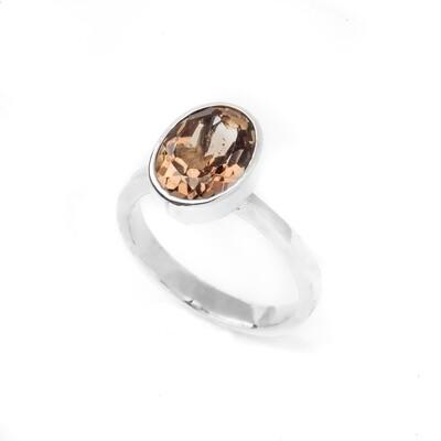 Bezel Ring - Topaz - 6.5⌀ (S925)