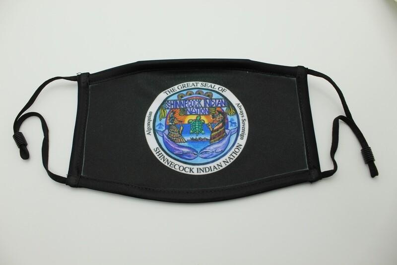BLACK SHINNECOCK SEAL MASK MEDIUM