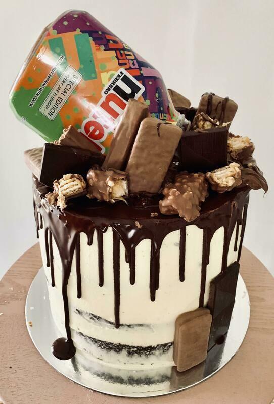 Nutella Crazy Chocolate Cake