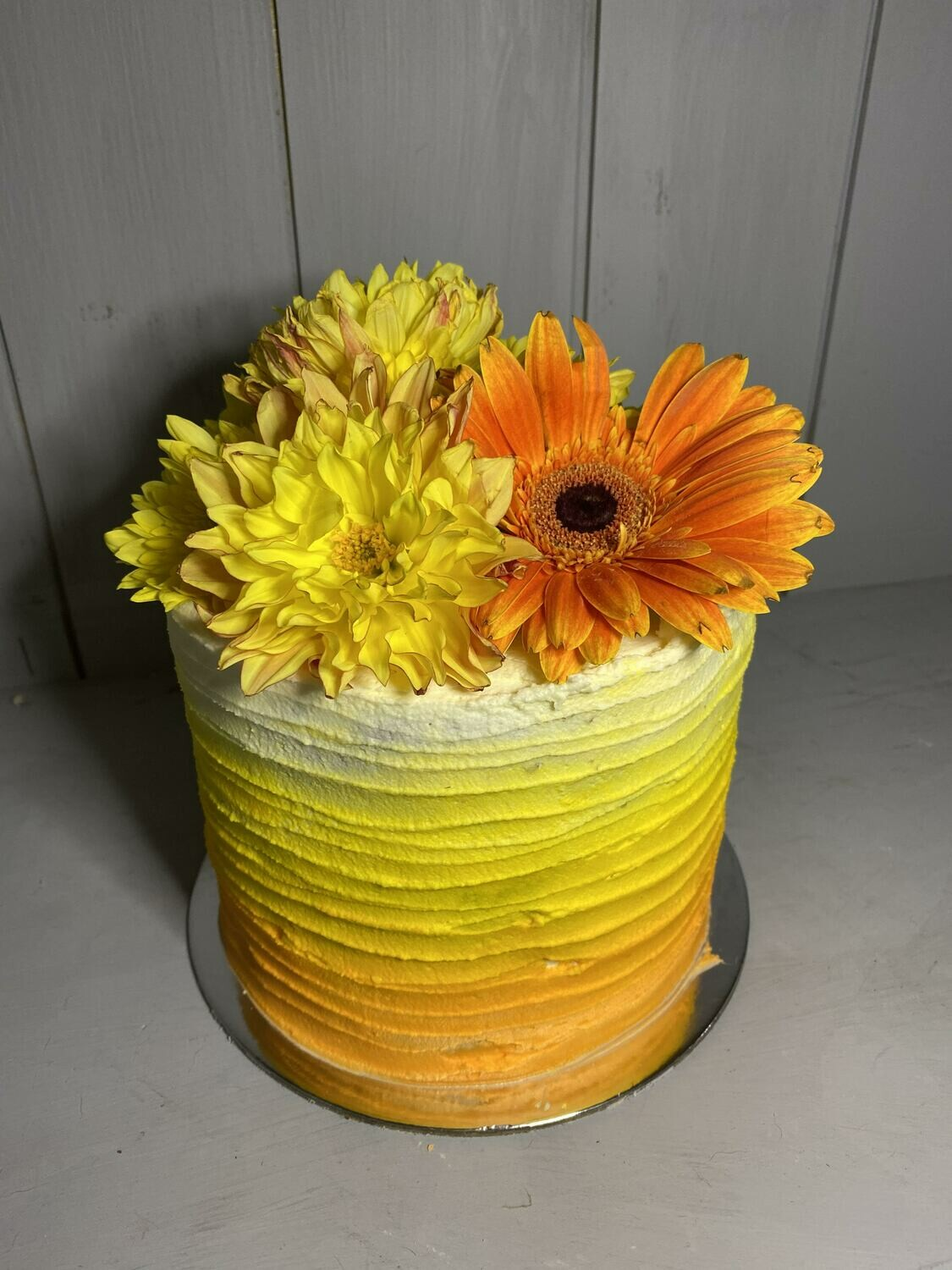 Summer Ombre Cake