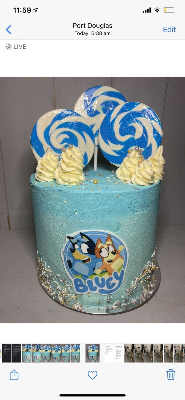 Bluey Cake - Coming Soon