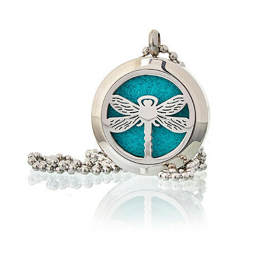 Dragonfly Diffuser Necklace 25 mm